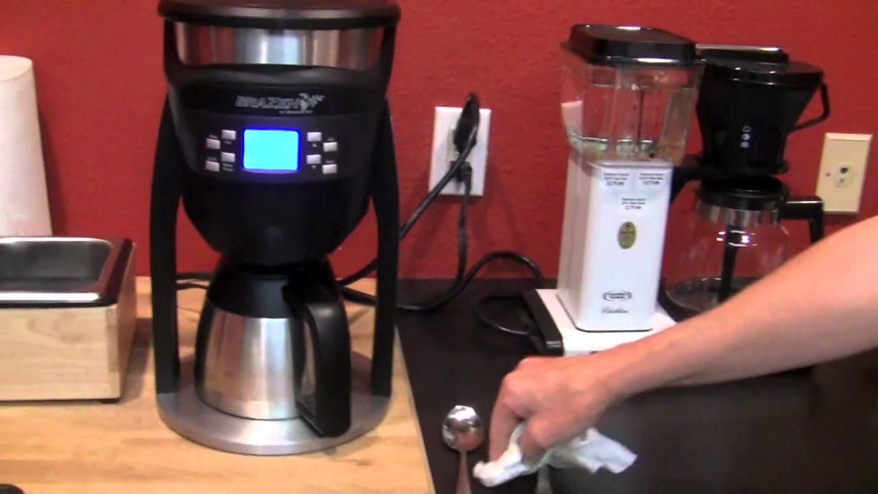 Behmor Brazen Plus coffee maker