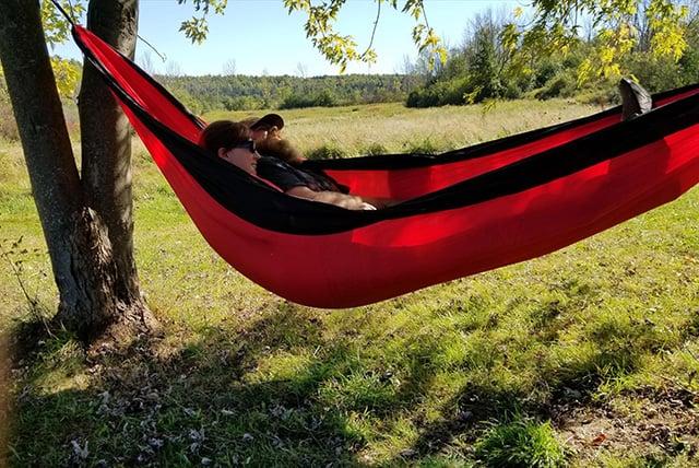 MalloMe Double Camping Hammock