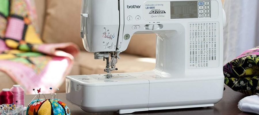 Brother LB6800PRW Embroidery Sewing Machine
